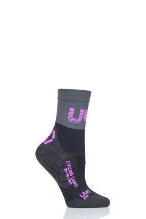 Ladies 1 Pair UYN Cycling Light Weight Socks