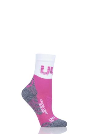 Ladies 1 Pair UYN Cycling Light Weight Socks
