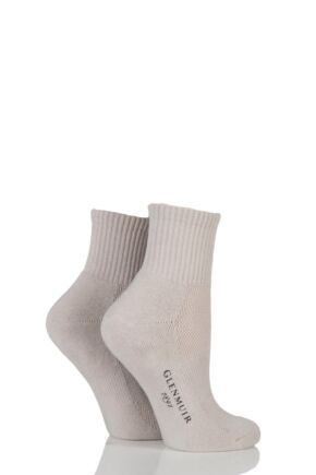 Ladies 2 Pair Glenmuir Jessica Cushioned Golf Socks