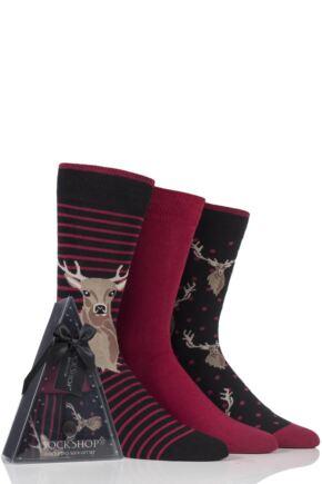 Men's 3 Pair SockShop Wild Feet Gift Boxes