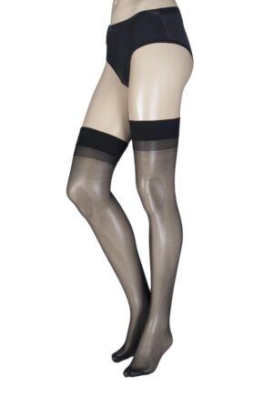 Ladies 1 Pair Trasparenze Sara 20 Denier Silky Stockings