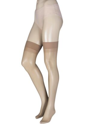 Ladies 1 Pair Trasparenze Sara 20 Denier Silky Stockings