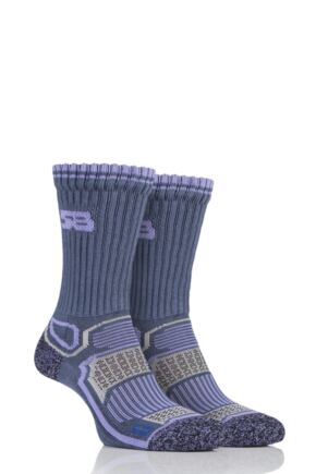 Ladies 2 Pair Storm Bloc with BlueGuard Aerobic Socks