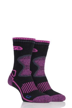 Ladies 2 Pair Storm Bloc with BlueGuard Wool Blend Socks