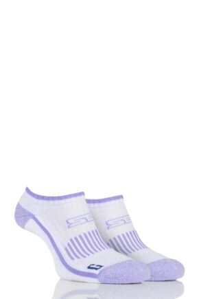 Ladies 2 Pair Storm Bloc with BlueGuard Ankle Trainer Socks