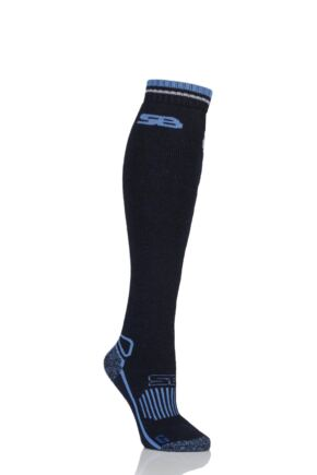 Ladies 1 Pair Storm Bloc with BlueGuard Equestrian Long Wool Blend Socks