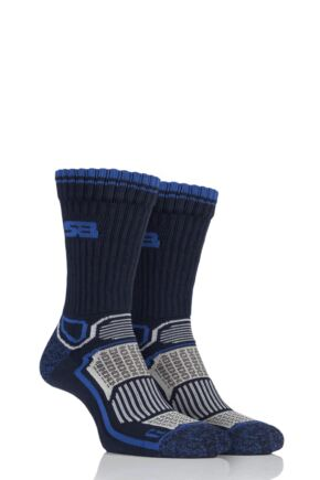 Mens 2 Pair Storm Bloc with BlueGuard Aerobic Socks