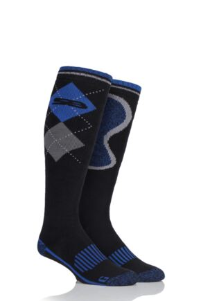 Mens 1 Pair Storm Bloc with BlueGuard Long Cotton Country Socks