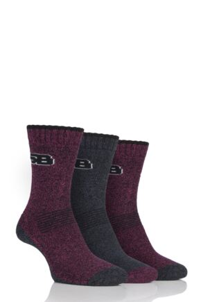 Ladies 3 Pair Storm Bloc Performance Boot Socks
