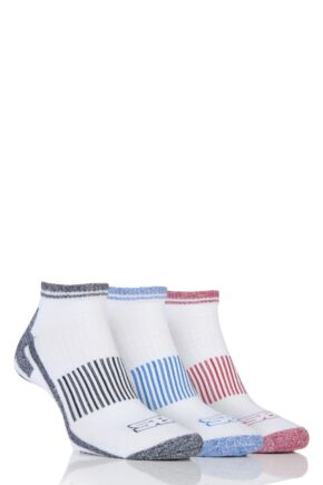Mens 3 Pair Storm Bloc Trainer Socks White 6-11 Mens