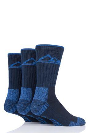 Mens 3 Pair Mens Storm Bloc Luxury Boot Socks