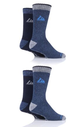 Mens 4 Pair Storm Bloc Performance Boot Socks