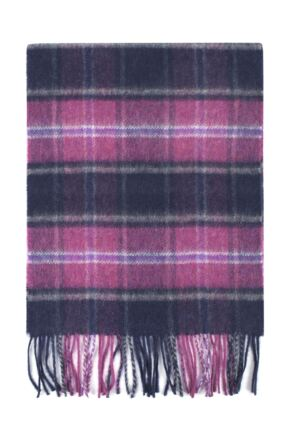 ee17b12e6ba47 Mens and Ladies Great & British Knitwear Made In Scotland Check 100%  Cashmere Scarf