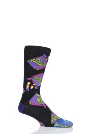 Mens 1 Pair Stance Scooby-Doo Scooby Snacks Cotton Socks