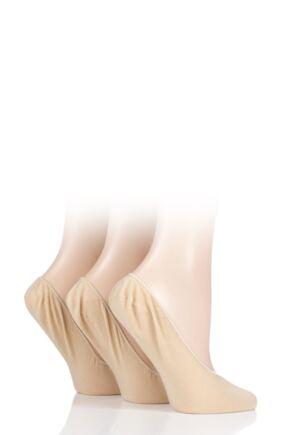Ladies 3 Pair Elle Tootsie Shoe Liners