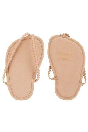 Ladies 1 Pair Elle Foot Thong Shoe Liner With Pad