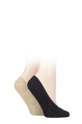 Ladies 2 Pair Elle Cushioned Sole Shoe Liners