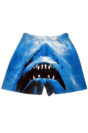 Mens 1 Pair Magic Boxer Shorts In Shark Design
