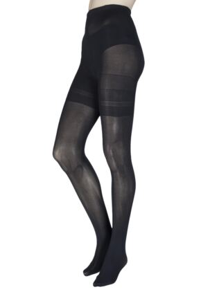 Ladies 1 Pair Trasparenze Curvy Sibilla 40 Denier Tights
