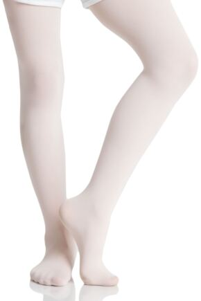 Girls 1 Pair Silky Ballet Foot Tights