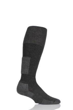 Mens and Ladies 1 Pair Thorlos Snow Board Thick Cushion Socks With Thorwick Charcoal 9