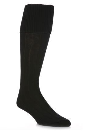 Youths 1 Pair Peter Shilton Pro Action Football Socks 25% OFF This Style Black