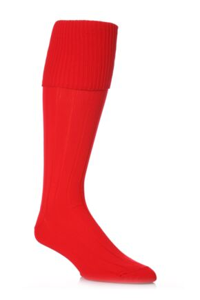 Youths 1 Pair Peter Shilton Pro Action Football Socks 25% OFF This Style Red