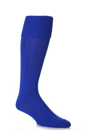 Youths 1 Pair Peter Shilton Pro Action Football Socks Royal