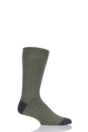 Mens 1 Pair Thought Walker Organic Cotton Walking Socks