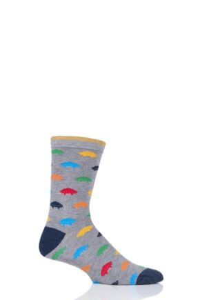 Mens 1 Pair Thought Gaming Bamboo and Organic Cotton Socks