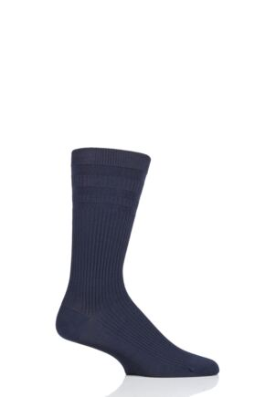Mens 1 Pair Thought Modal and Recycled Polyester Diabetic Socks