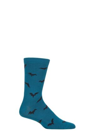 Mens 1 Pair Thought Abel Batwing Bamboo and Organic Cotton Socks