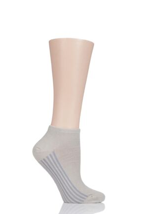 Ladies 1 Pair Thought Solid Jane Bamboo and Organic Cotton Trainer Socks
