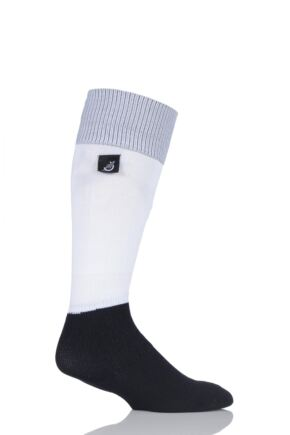 Mens and Ladies 1 Pair Sealskinz Football Socks White Medium