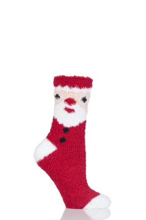 Ladies 1 Pair SockShop Christmas Novelty Socks
