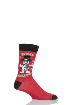 Mens 1 Pair SockShop Christmas Novelty Socks