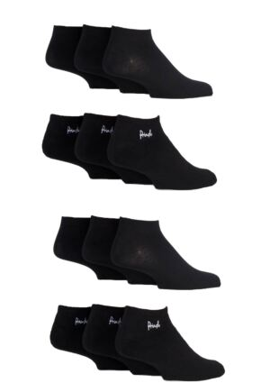 Mens 12 Pair SOCKSHOP Fresh Sock Drawer Collection Trainer Socks - Save £5