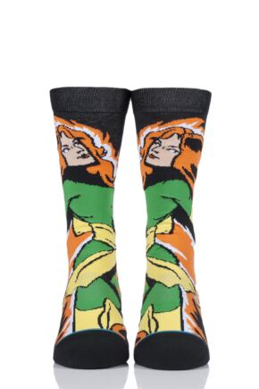 Mens and Ladies 1 Pair Stance X-Men Collaboration Jean Grey Cotton Socks