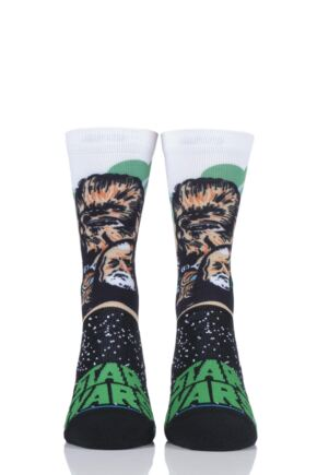 Mens and Ladies 1 Pair Stance Star Wars Collaboration Chewbacca Cotton Socks