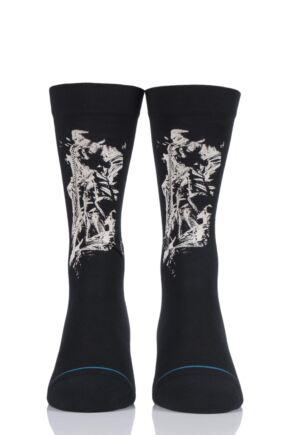 Mens 1 Pair Stance Jimi Hendrix Collaboration Hendrix Solo Cotton Socks