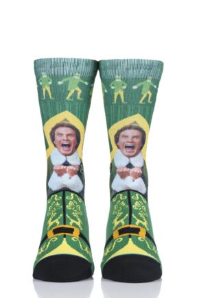 Mens and Ladies 1 Pair Stance Elf Collaboration I Know Him Socks