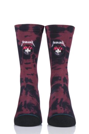 Mens 1 Pair Stance Metallica Collaboration Master of Puppets Socks