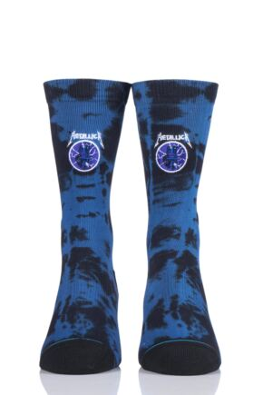 Mens 1 Pair Stance Metallica Collaboration Ride the Lightening Socks