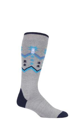 Mens 1 Pair SOCKSHOP Heat Holders 1.0 TOG Slalom Adventure Ultra Lite Ski Socks