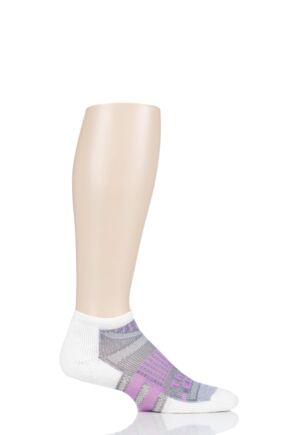 Mens and Ladies 1 Pair Thorlos Edge Tennis Micro Mini Crew Socks