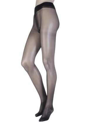 Ladies 1 Pair Oroblu Repos 40 Denier Graduated Compression Tights