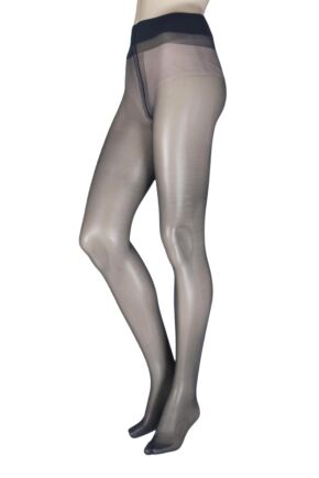 Ladies 1 Pair Oroblu Magie 20 Denier Silky Sheer Nude Tights