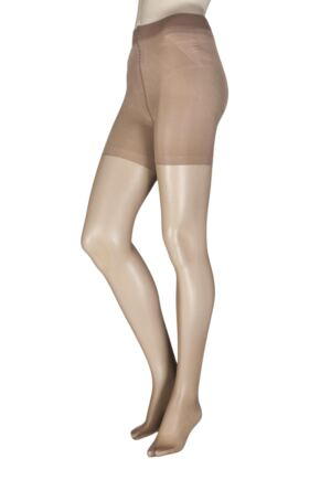 Ladies 1 Pair Oroblu Shock Up Light 20 Denier Bottom Lifting Shaping Tights