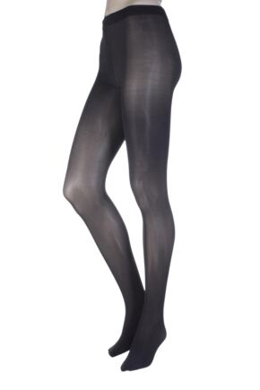 Ladies 1 Pair Oroblu 50 Denier All Colours Opaque Tights Grey Large / Extra Large