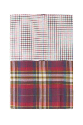 Mens 2 Pack Viyella Chequered Cotton Handkerchiefs